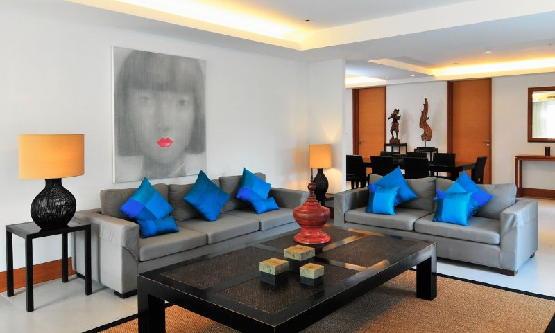 Pearl of Naithon DF04 Luxury 3 bedrooms apartment only 50 m from the beach., vakantiewoning in Nai Thon
