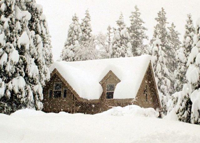 Morton Family Cabin-Morton Cabin, in Big Trees Village, near Bear Valley Ski Resort