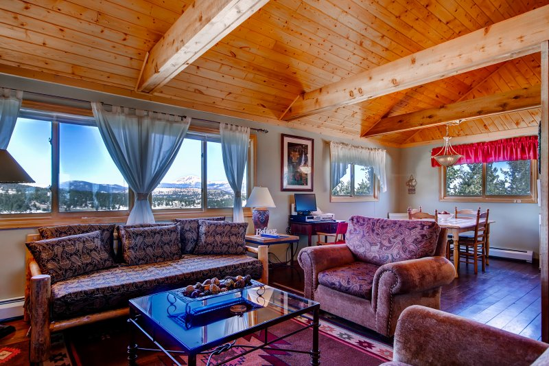 Experience the best of the Rockies from this 2-bedroom, 1-bathroom vacation rental cabin!