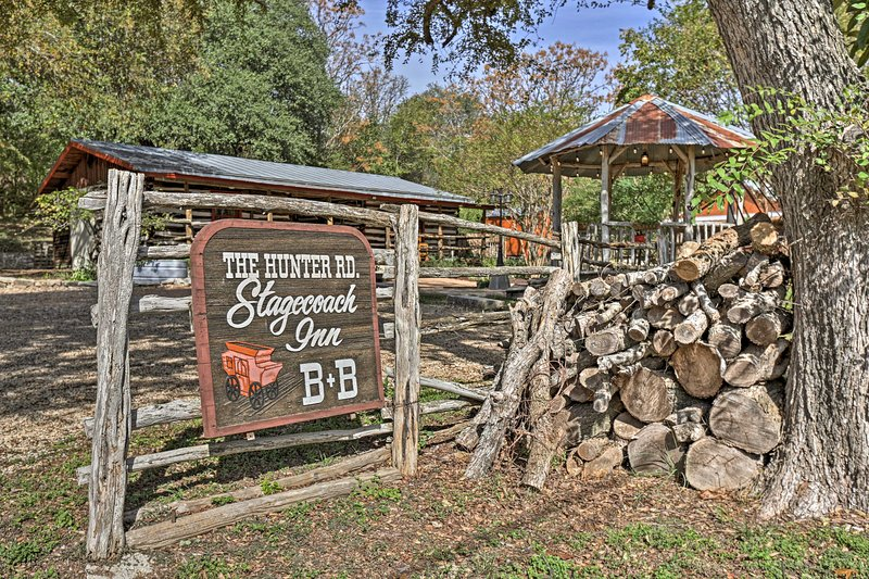 Enjoy easy access to the best attractions of the Texas Hill Country.