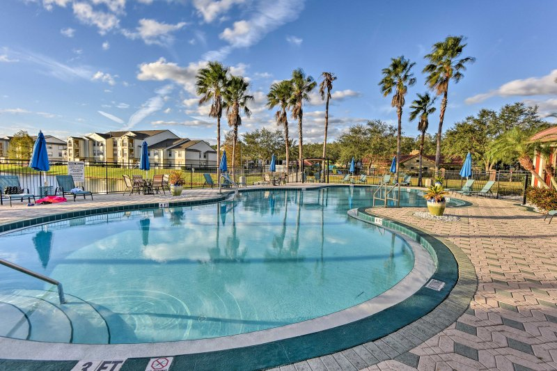 Everyone will love access to resort amenities including this community pool.