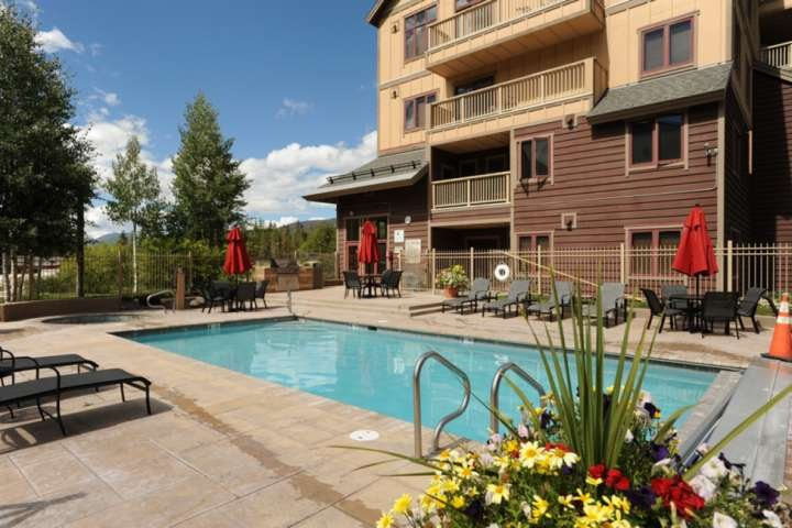 Take A Dip In The Pool Right Outside Your Condo Building