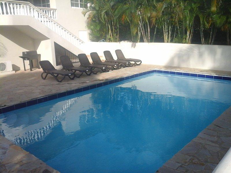 Villa Salsa 4 chambres piscine vue mer, vacation rental in Sosua