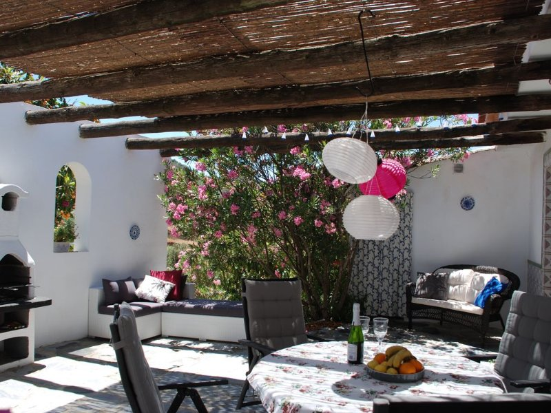 Wine, dine or simply relax in your private terrace area