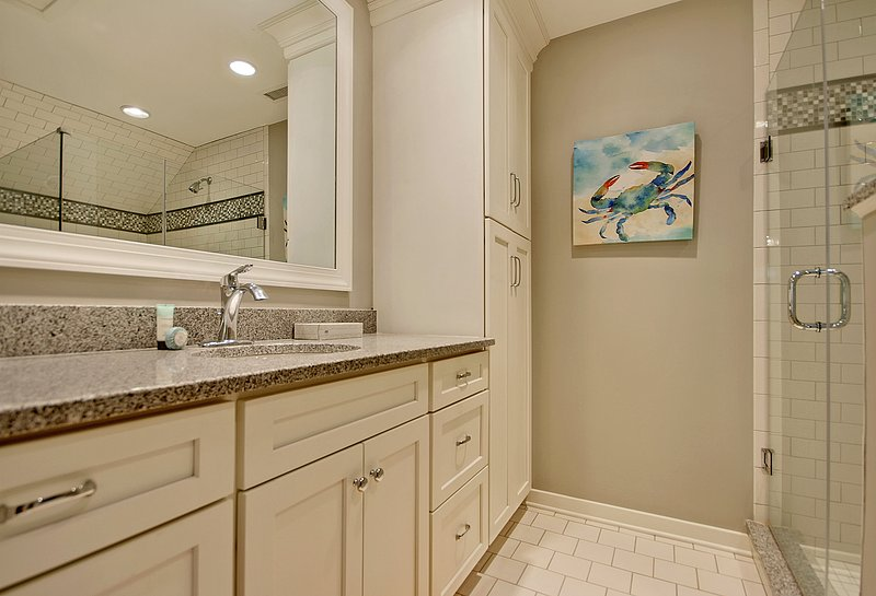private bath adjoining upstairs king bedroom