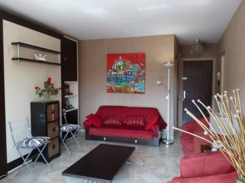 Contemporary and spacious living area