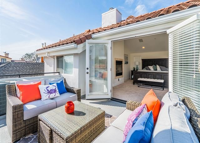 Relaxing Rendezvous located on the Oceanside Area of CDM - Outdoor Fireplace, location de vacances à Corona del Mar