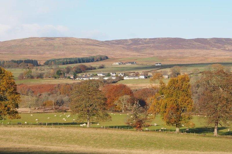 Vista del Harrietfield da tutto il Glen