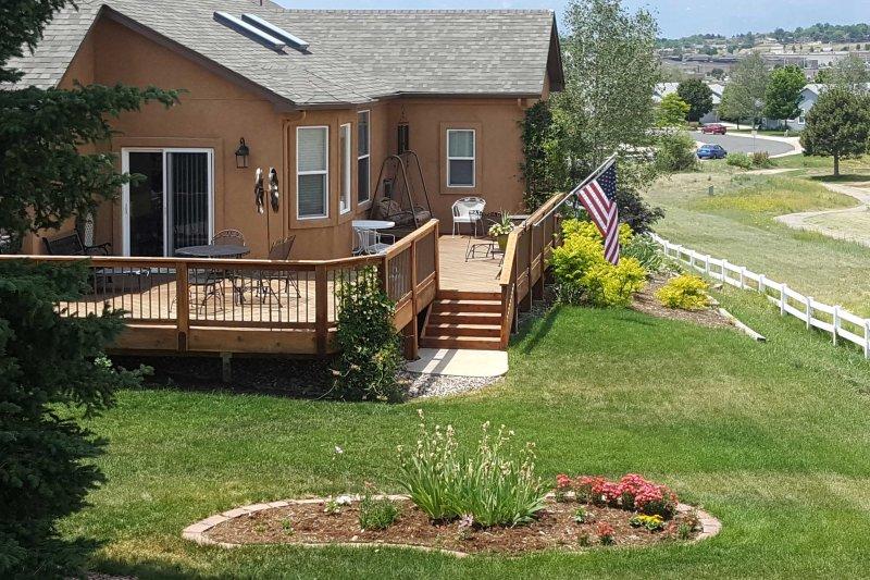 Experimente o melhor de Colorado Springs a partir deste alojamento de férias em estilo rancho!