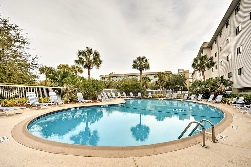 Relax at one of 2 beautiful outdoor pools and soak up the sun.