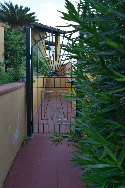 private entrance to the apartment