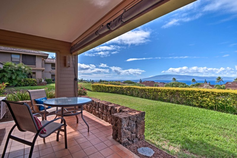 Elevate your Lahaina getaway at this 1-bedroom, 1-bath vacation rental condo!