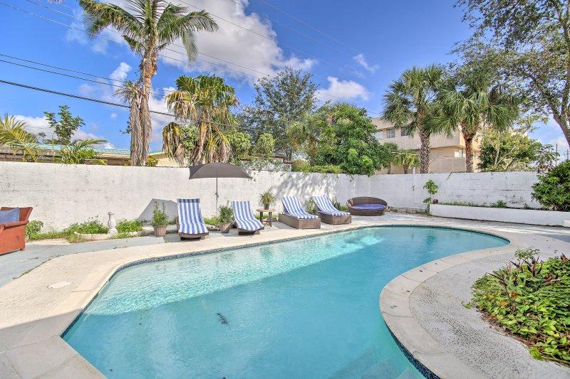La casa si trova a 1,5 miglia dalla splendida Lauderdale-by-the-Sea Beach!
