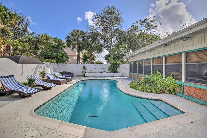 Verlieben Sie sich in Fort Lauderdale in diesem Ferienhaus zu Hause!