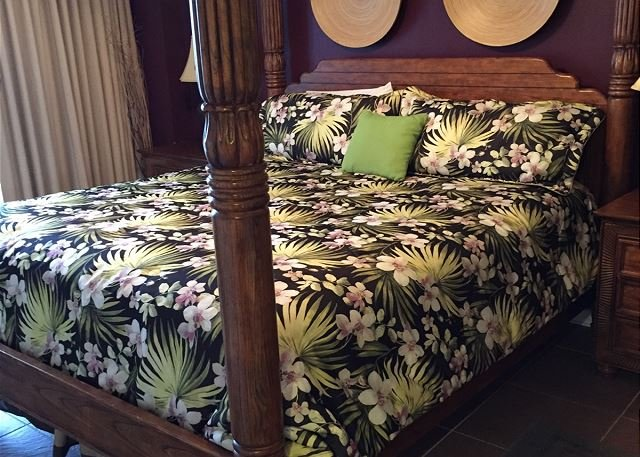 Master bed Dec 2017