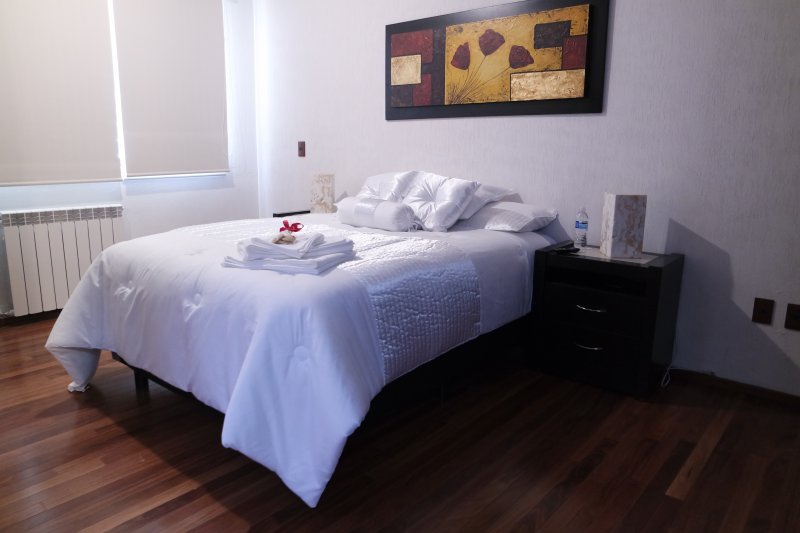 Cozy bedroom with excellent services, vakantiewoning in Estado de Mexico