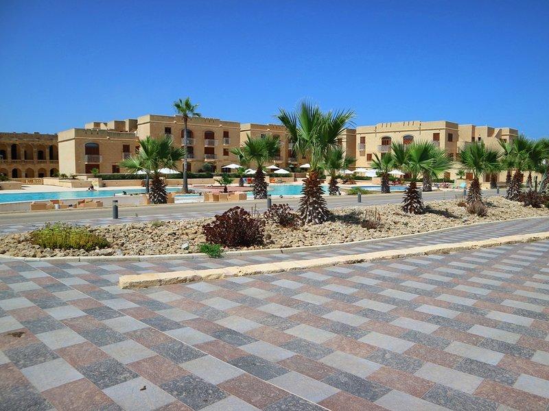 zona común piscina principal