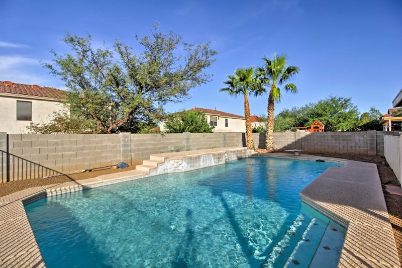 Enjoy the private, non-heated pool during your stay.