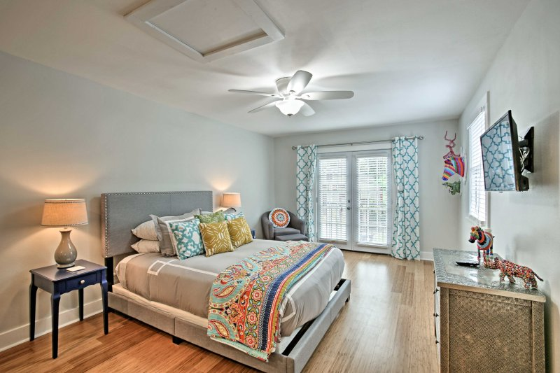 Stay at this vacation rental cottage, close to all of New Orleans' excitement!