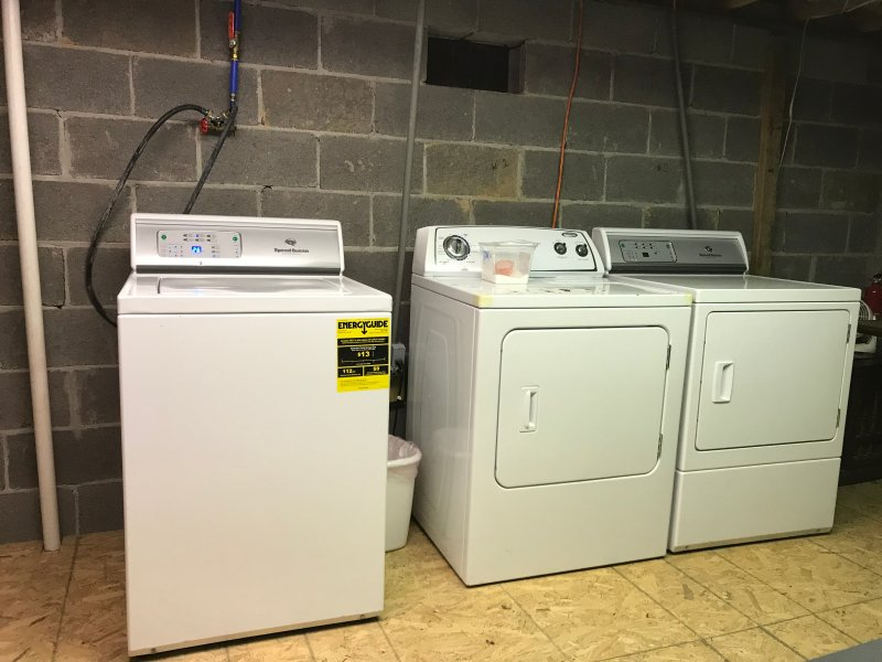 Washer and 2 dryers