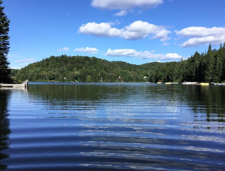 Spectacular views of the lake. What say except Wow?