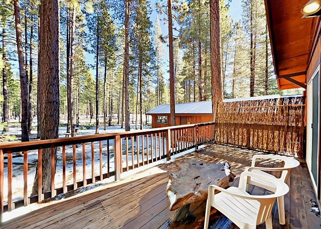 Cozy Remodeled Cabin w/ Private Deck & Grill - Short Drive to Skiing & Dining, casa vacanza a Markleeville