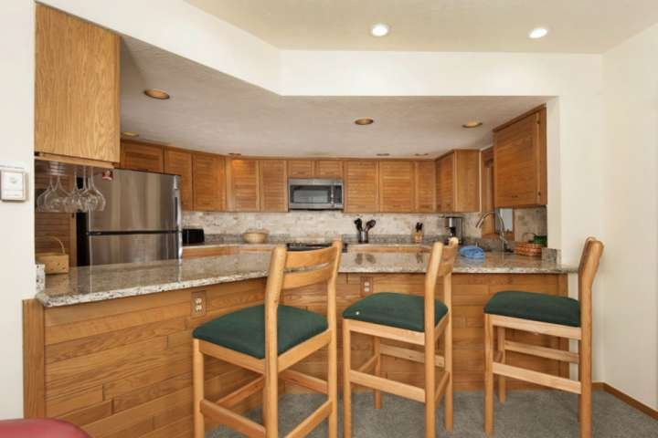 Remodeled Kitchen Fully Stocked to Make Holiday Meals