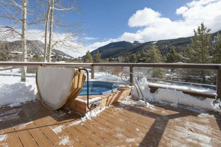 Hot Tub Steps Away From Your Condo
