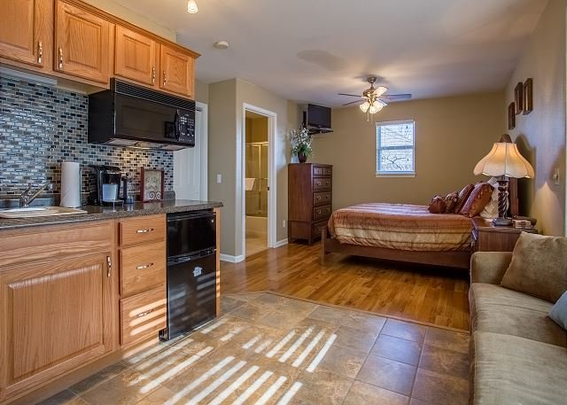 Guest Bedroom with Kitchenette