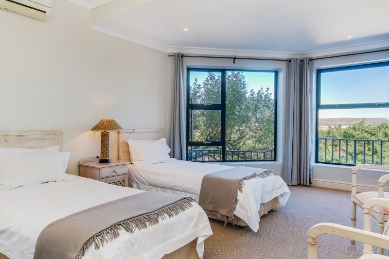 Bedroom 2 with sea views