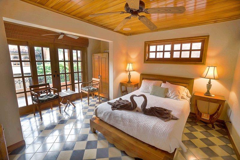 quarto principal com terraço