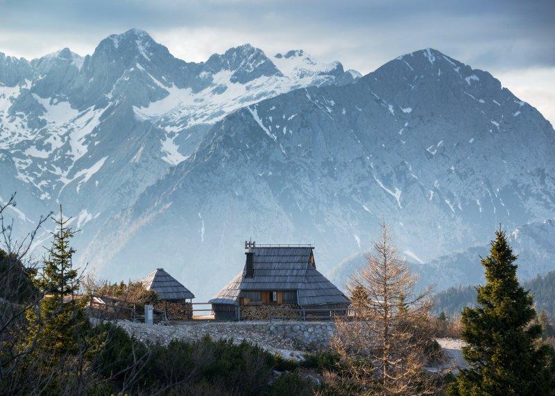 Koča Ojstrica - Velika planina, holiday rental in Senturska Gora