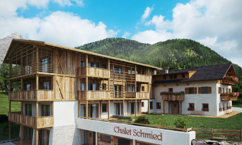 Ihr Alpenchalet Schmied, vacation rental in Vandoies