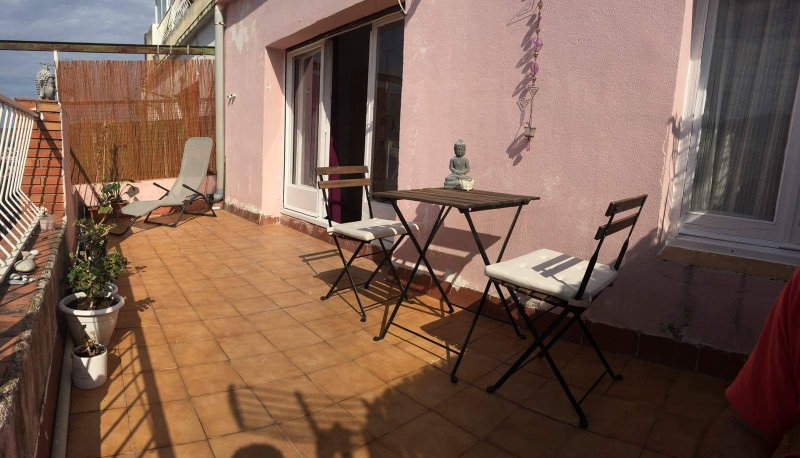 Small twobedroom appartment w amazing view from big terrace, vacation rental in Sant Cugat del Valles