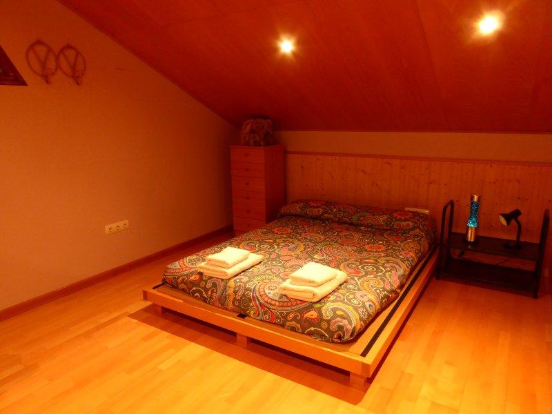 soppalco futon con parquet