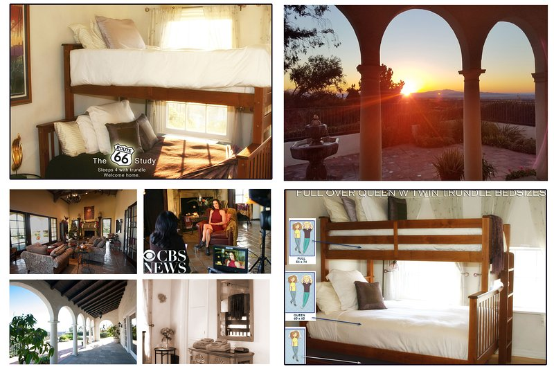 Pasadena ROUTE 66 study SLEEP 4 Rose Bowl JTL, vacation rental in Altadena