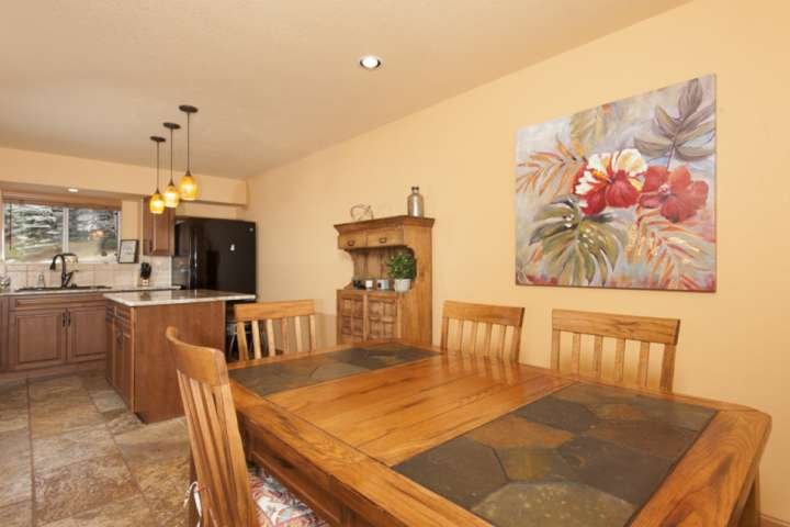 Room For Preparing Meals, Large Table To Dine And Play Games