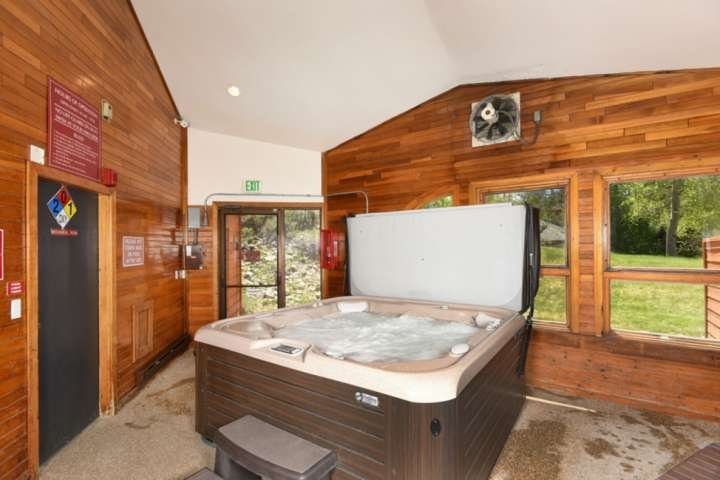 Soak In The Shared Hot Tub (At Clubhouse) After An Active Day