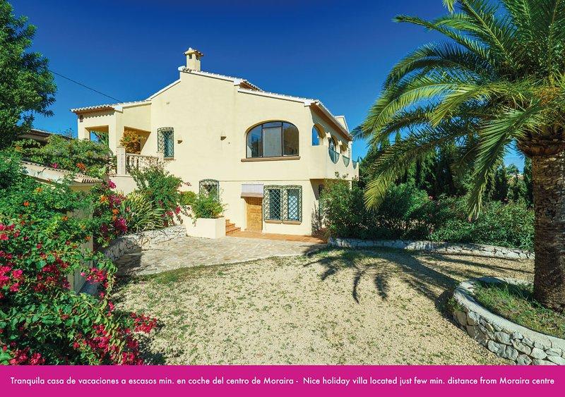 Bookit Villa Berdica Moraira, Ferienwohnung in Canor