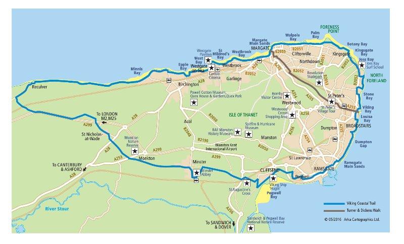 Isle of Thanet - accès facile Canterbury et Londres