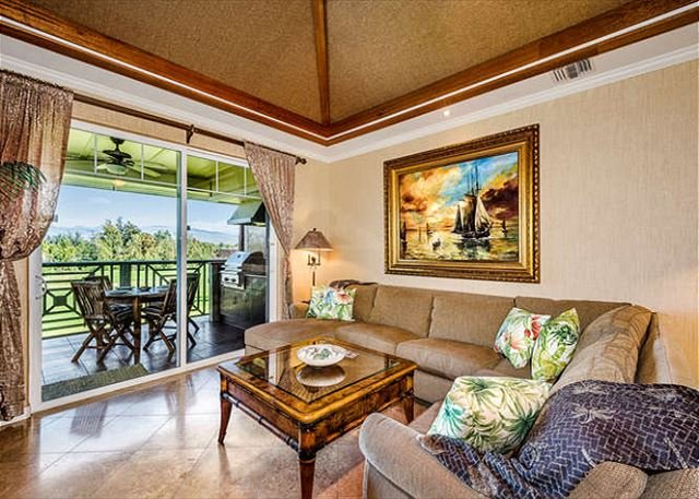 Waikoloa Beach Villas J32-LUXURY PENTHOUSE VILLA w/GOLF DISCOUNT/GOLF CLUBS!!, vacation rental in Waikoloa