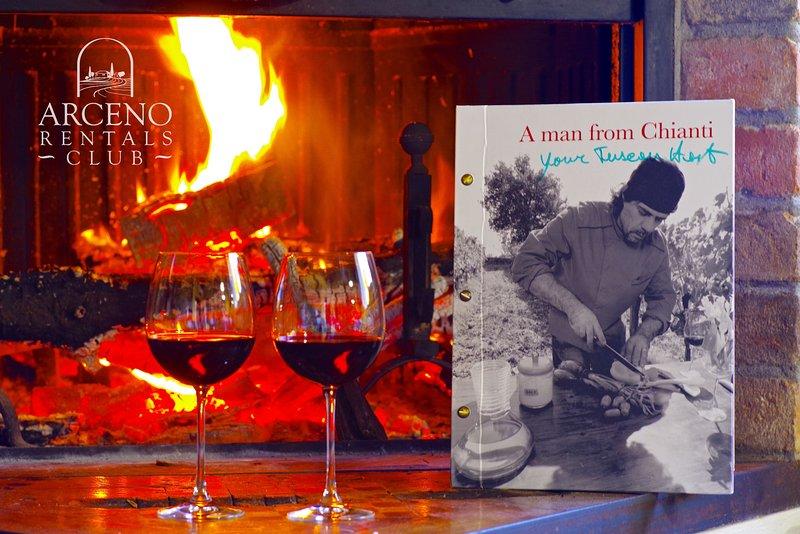 Bom vinho, fogo bem, boa comida o que mais poderia desejar?
