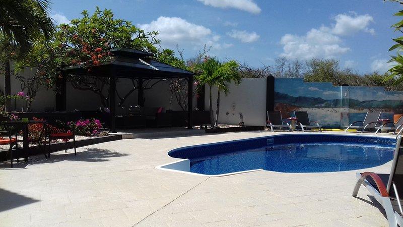 piscine et espace détente