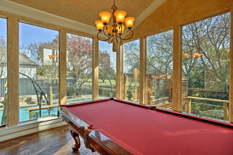 Challenge your fellow guests to a friendly game of pool!