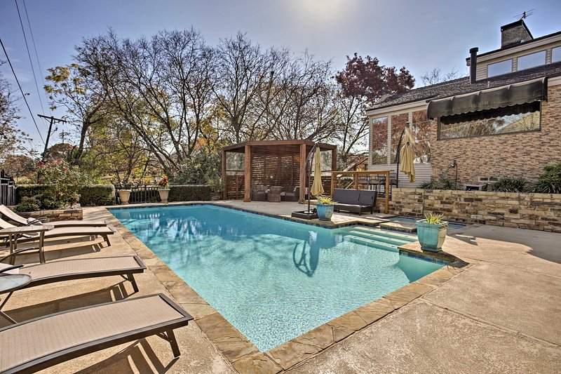 Experience a relaxing getaway at this Richardson vacation rental house.