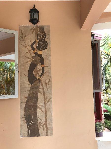 obra de arte para complementar el exterior