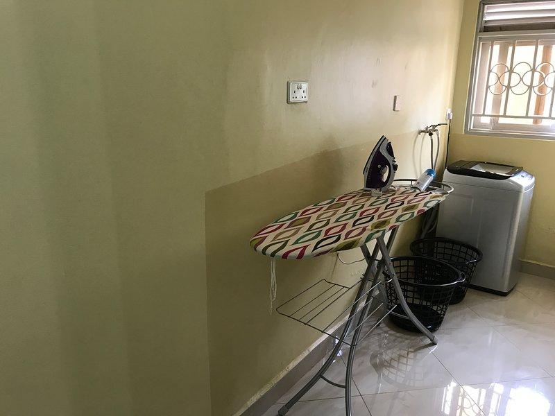 Aréa de lavandería