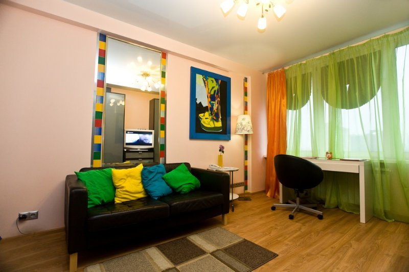 1-room apt. at Novyy Arbat, 10 (108), vacation rental in Sergiyevo-Posadsky District