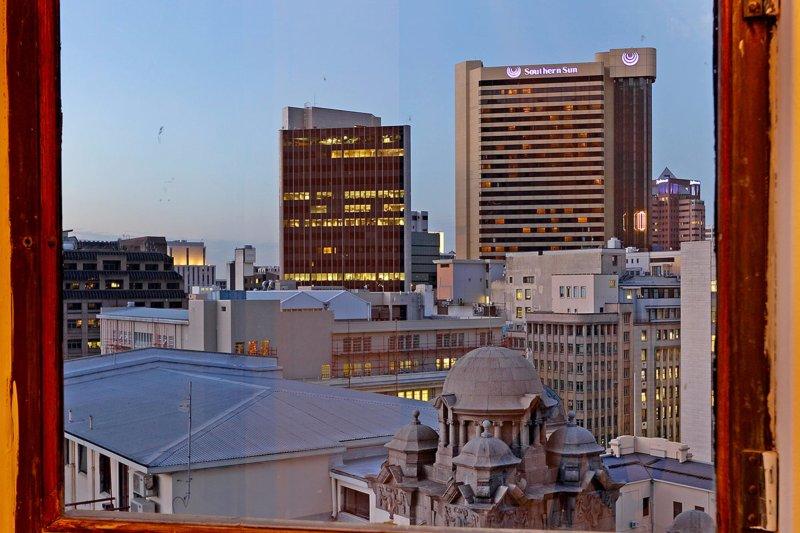Cape Town city view from Art Deco Loft