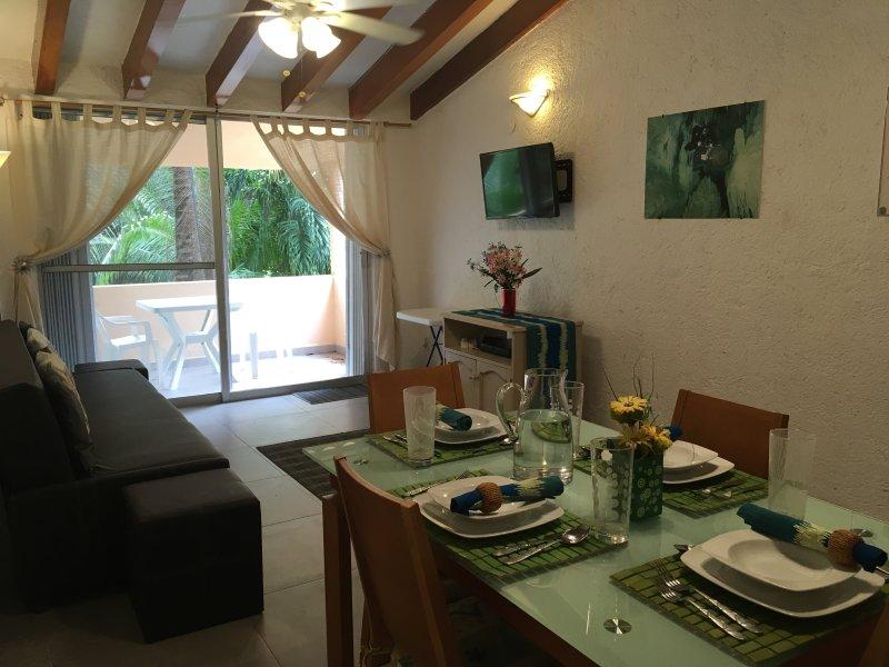 2 bedroom 2 bathroom apartment next to golf course, vacation rental in Xpu-Ha